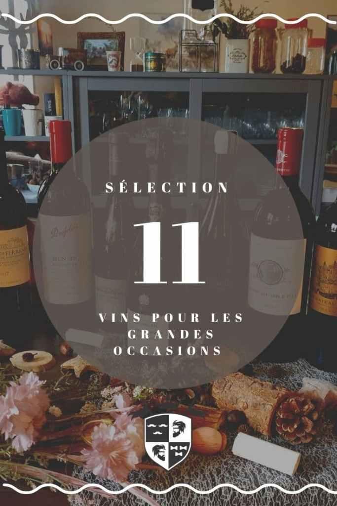 11 vins pour les grandes occasions