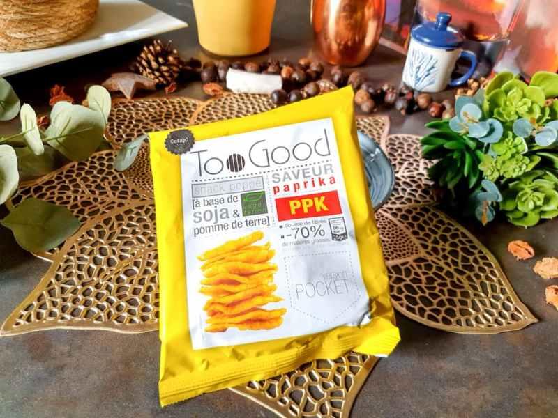 chips soja pomme de terre Too Good