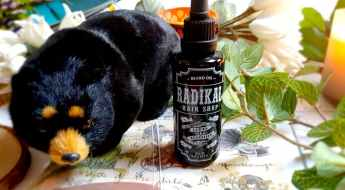 Huile à barbe old Scents Lames et tradition X Radikal Hair Shop