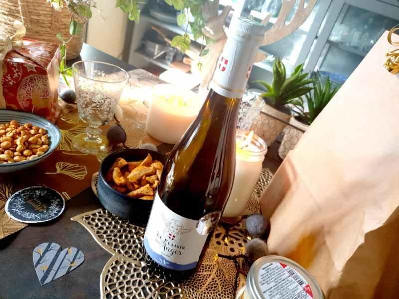 Vins pour une Saint-Valentin au top : Le Plaisir des Anges, AOP Savoie Bourgogne Aligoté - Domaine des Anges