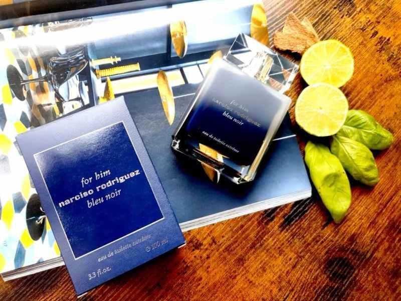 test Narciso rodriguez For Him Bleu Noir Extrême
