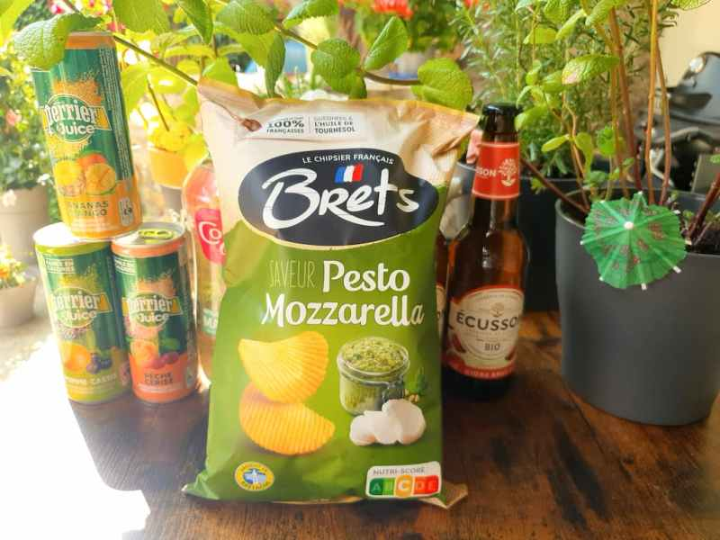 Chips Saveur Pesto Mozzarella