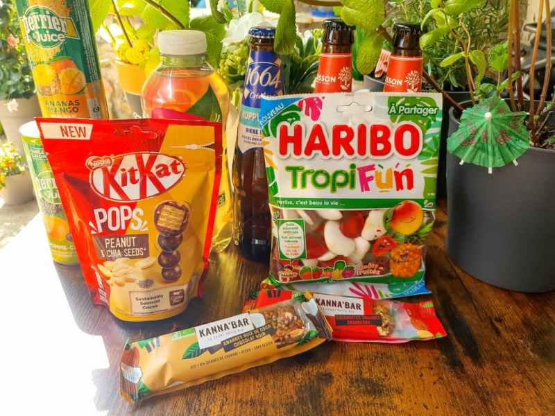 snacks sucrés Degusta Box 2021