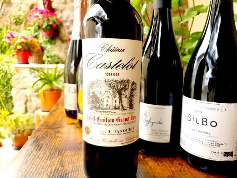 Vins et Champagne pour l'été 2021 : Château Castelot 2019