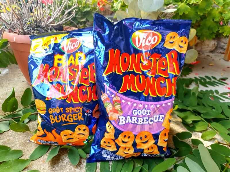 biscuits apéritif Monster Munch
