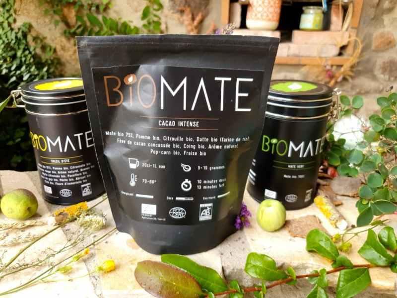 Biomate : maté cacao intense