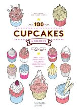 100 cup-cakes à colorier