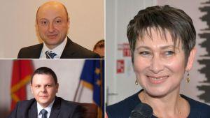 Радев сменя само трима министри
