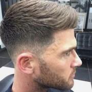 medium fade haircut