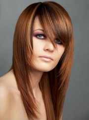 medium length choppy layered haircuts