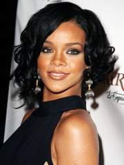 medium length hairstyles black