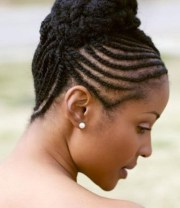 natural hairstyles with braids