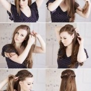 step curly hairstyles