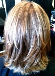 view of shoulder length hair