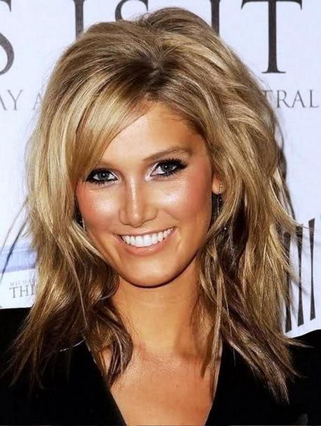 30 Thick Hairstyles Medium Length No Bangs Hairstyles Ideas