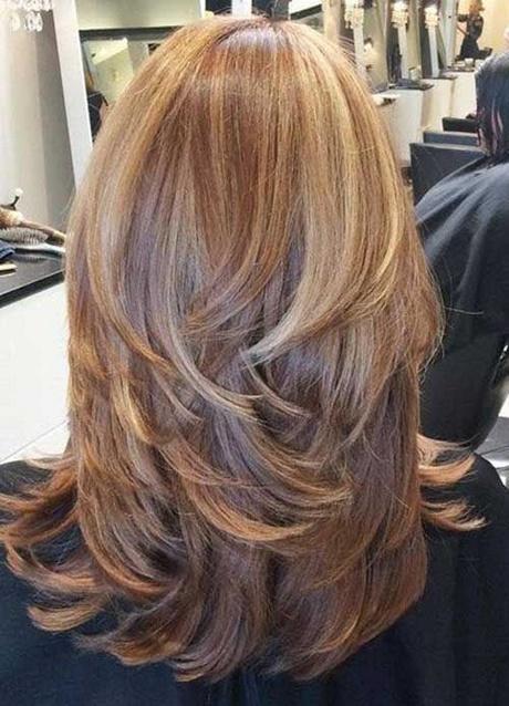 Long layered haircuts 2018