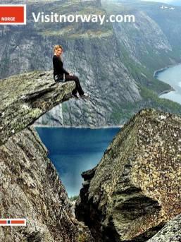 På toppen, høyt henger jeg - og lykkelig er jeg!