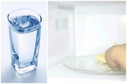 Membersihkan air bersih