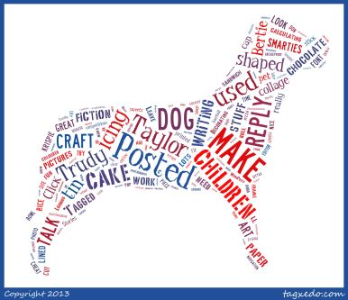 tagxedo dog trudyktaylor blog3