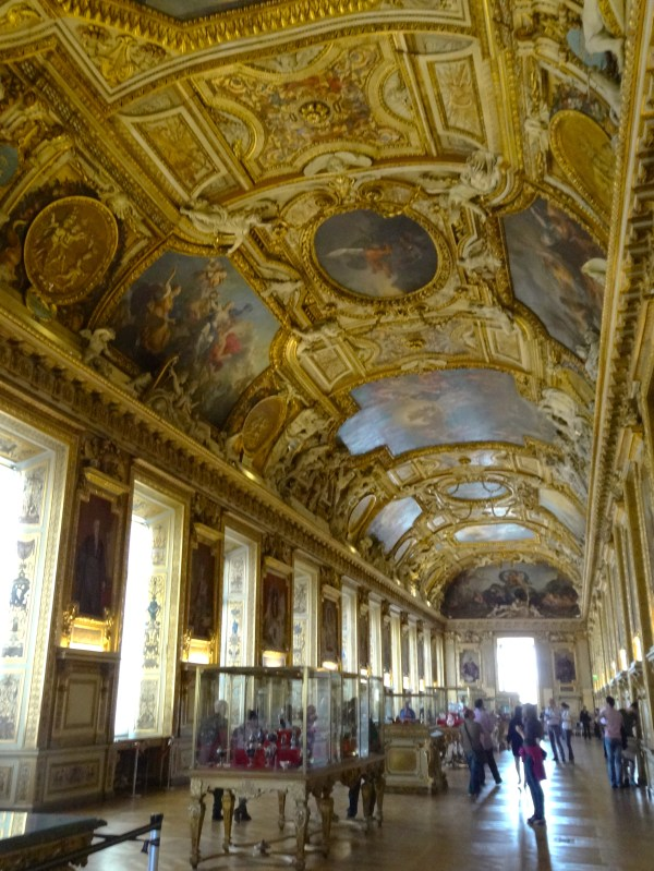 Louvre Paintings with Room