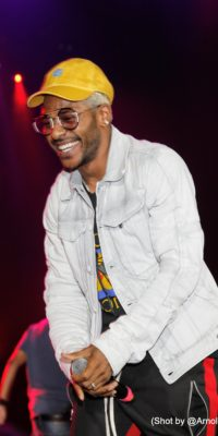 ONTARIO, CA - OCTOBER 26: Eric Bellinger performs at Octurnal Pre Halloween Concert at Citizens Business Bank Arena on Thursday, October 26, 2017 in Ontario, California. (Photo by: @ArnoldShoots)