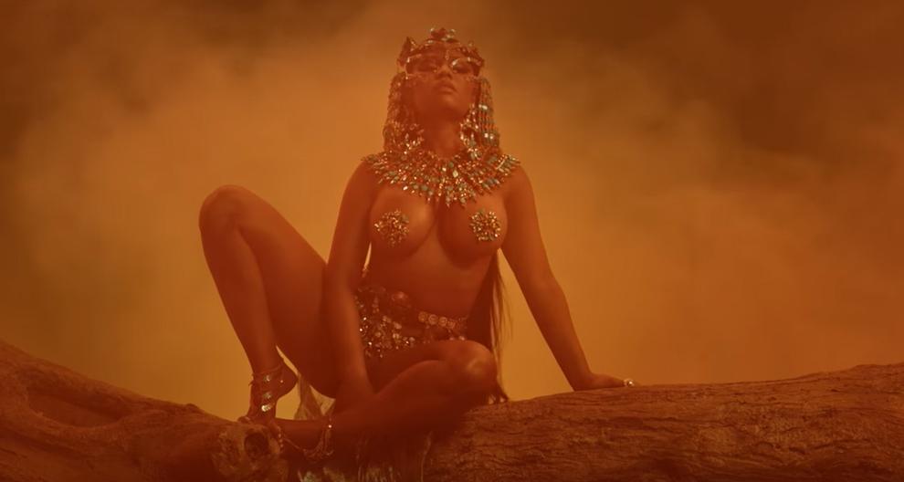 Nicki Minaj - Ganja Burn (Official Music Video)