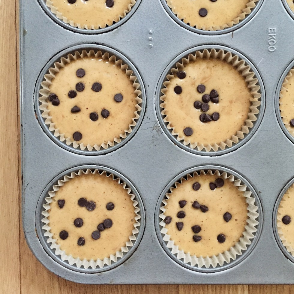Peanut butter protein muffin mix