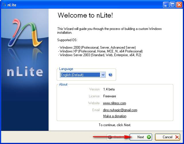 Tạo đĩa cài windows xp tích hợp driver cho Sata disk ICH9m, ICH10 (2/6)