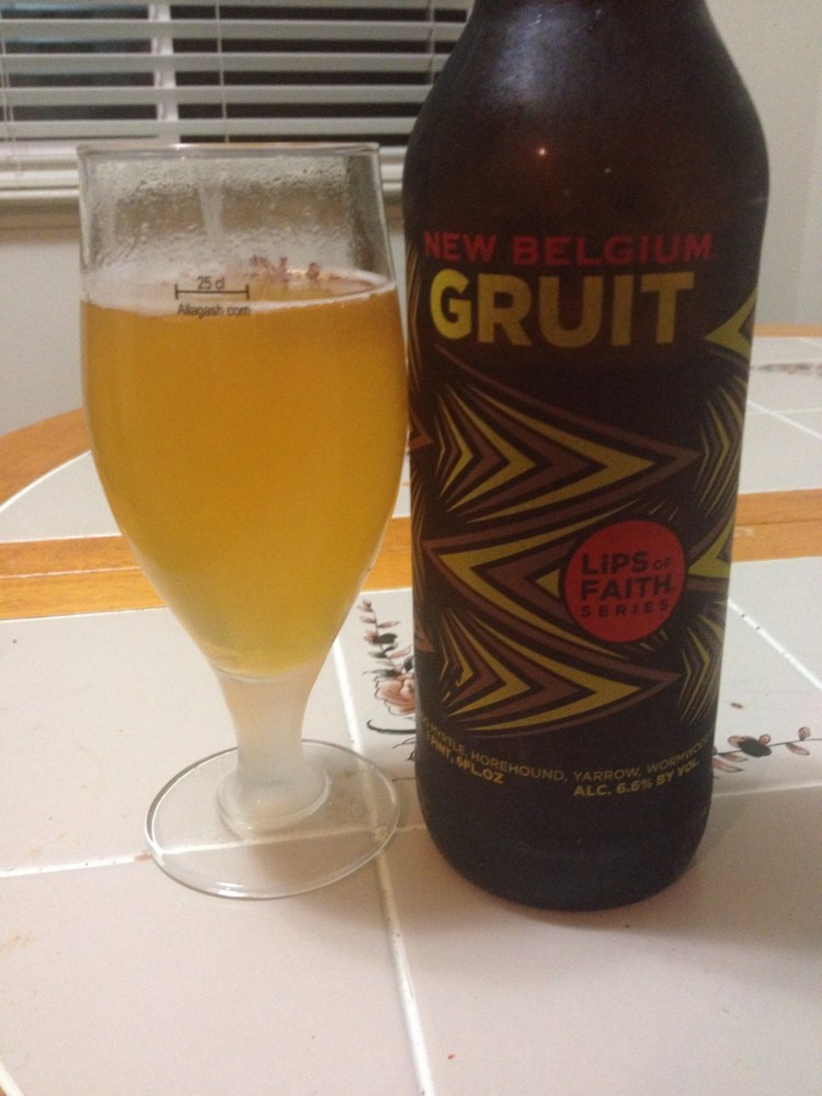 Gruit (Lips of Faith) - New Belgium Brewing - Bi-Weekly Beer Review Episode 14 (3/3)