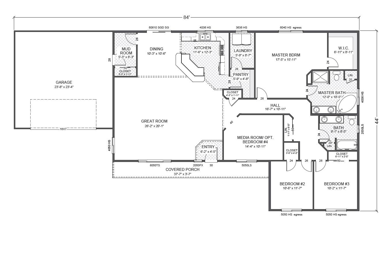 Rambler Home Plan Joy Studio Design Gallery