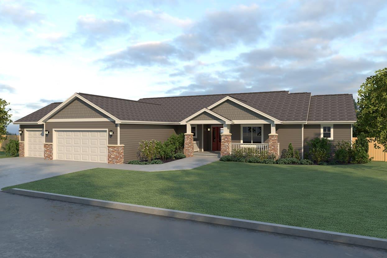 Rambler Home Plans