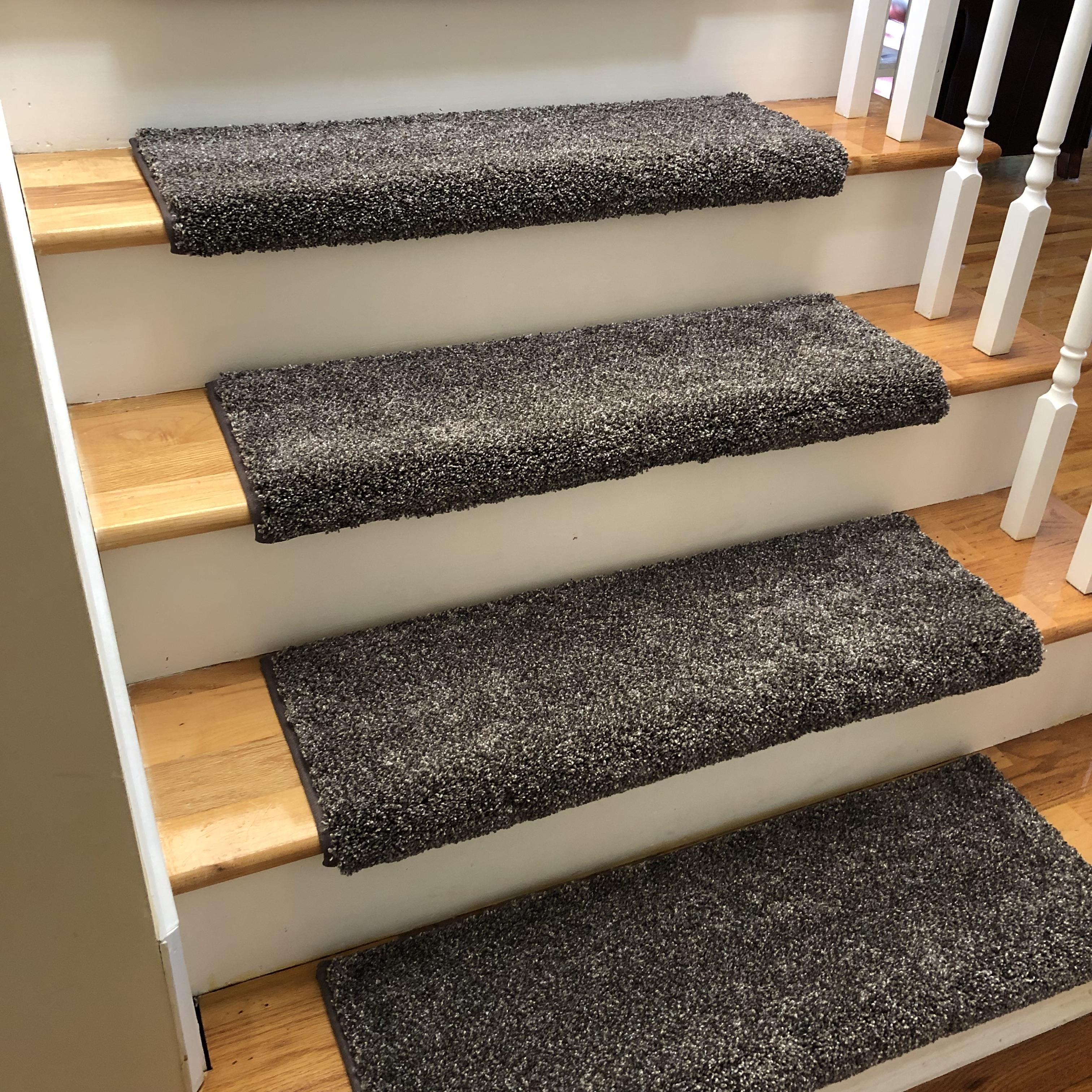 how to install carpet on stairs with bullnose