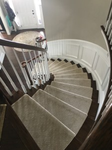 Curved Staircase Tan 1