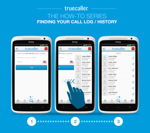 Finding Your Call Log/History - Truecaller Blog