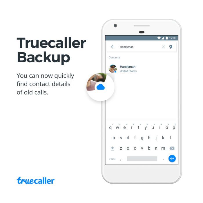 2. Truecaller Backup search