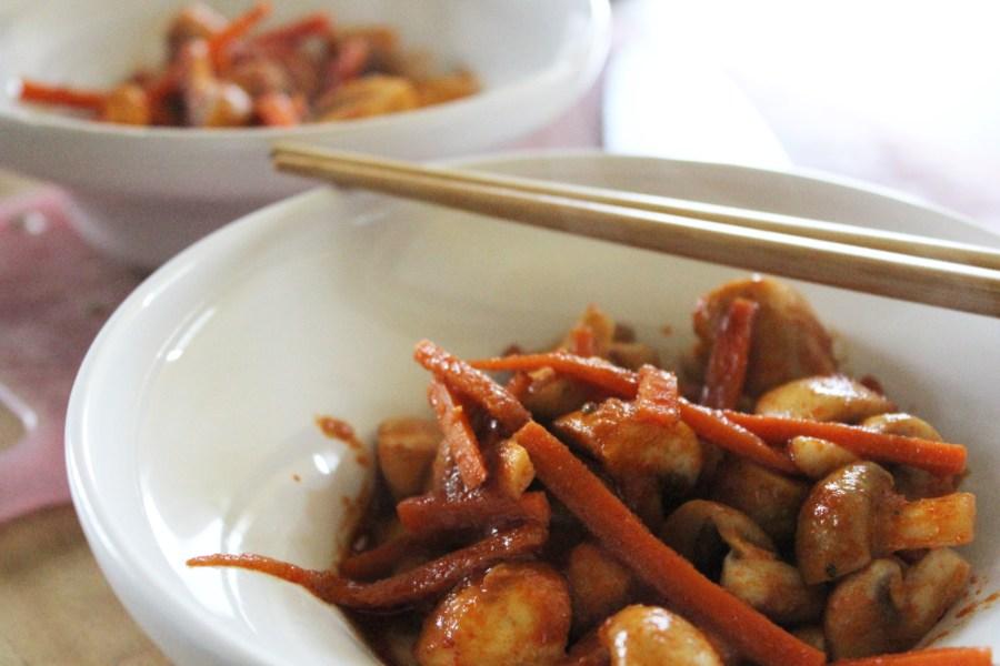 thai red curry mushrooms