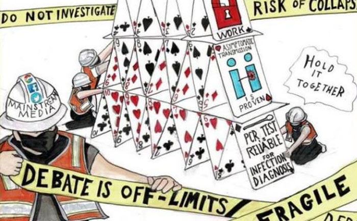 Covid house of cards