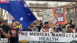New York Protest for Australia