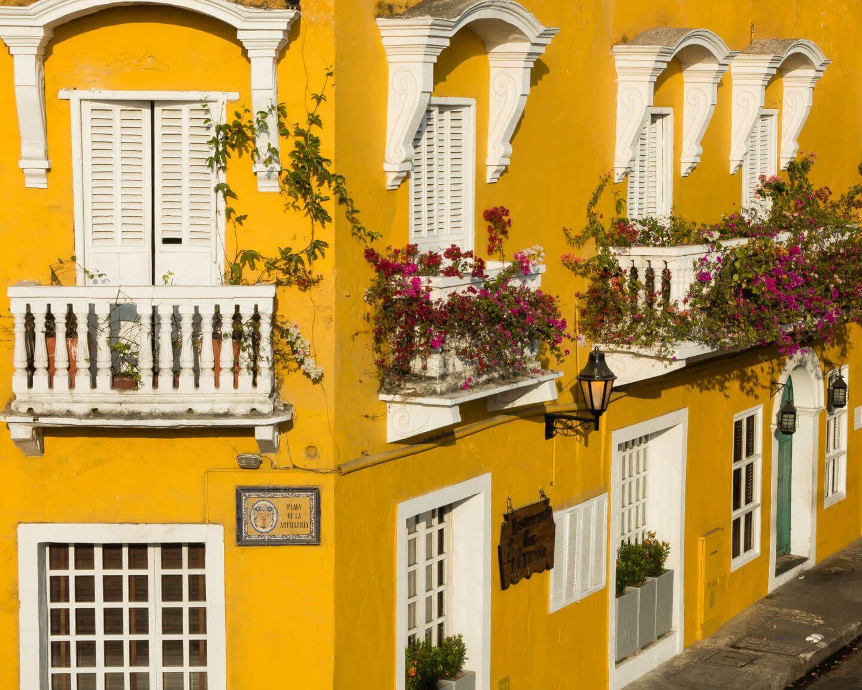 Colonail Architecture Cartagena