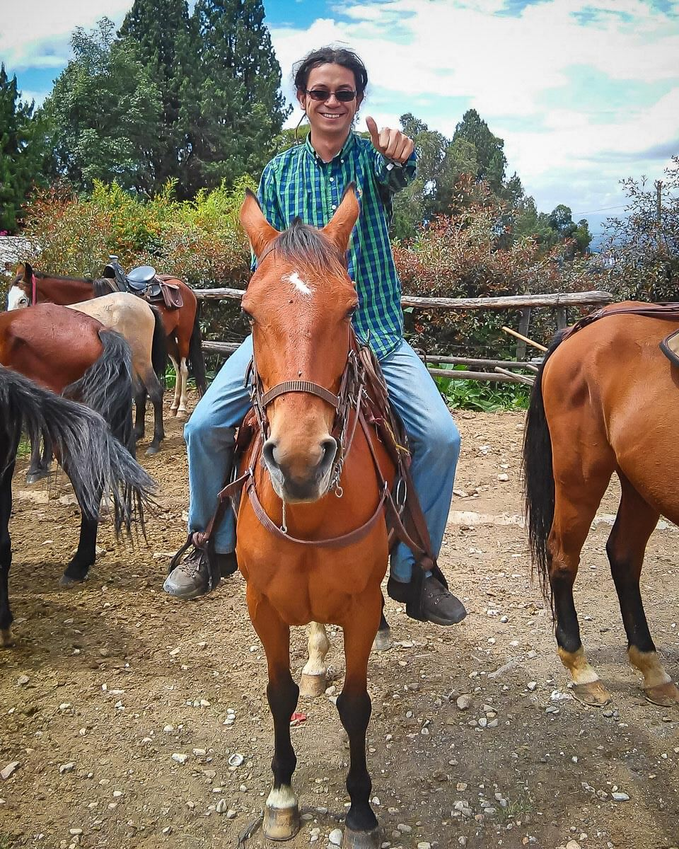 Santi_Horseback