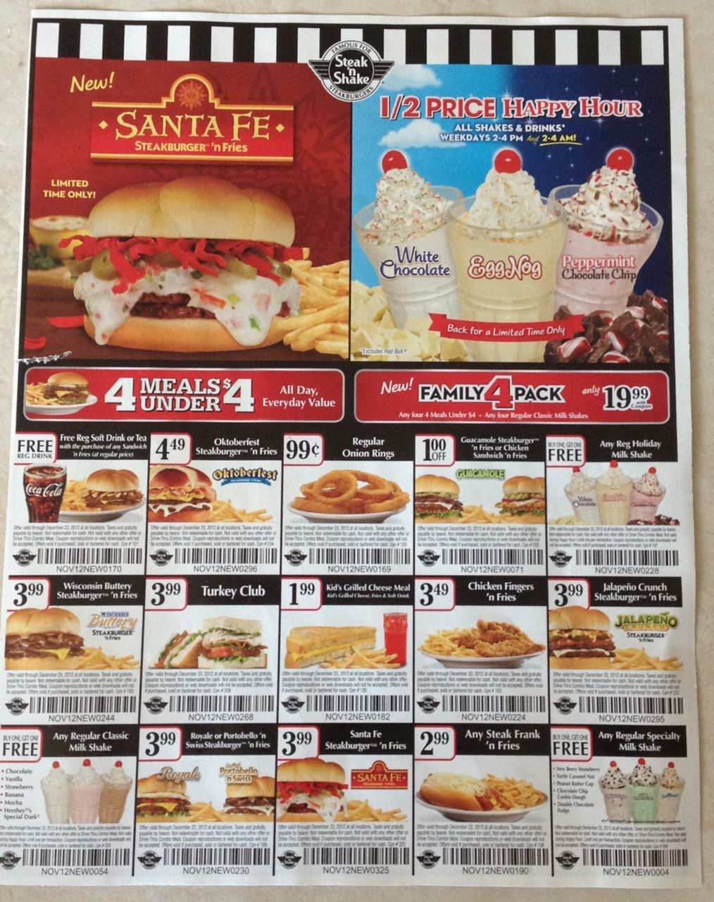 Steak and shake coupons july 2019