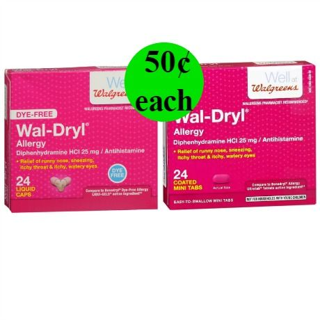 Image Result For Wal Dryl Allergy