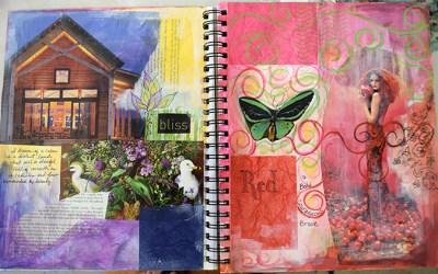 Visual Journaling Sample