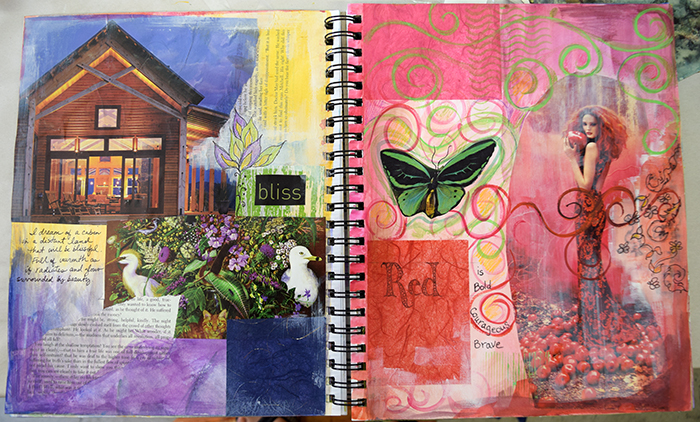 Visual Journaling Sample