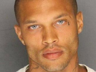 SO HOT RIGHT NOW! 'Sexy mugshot guy' makes New York Fashion Week debut