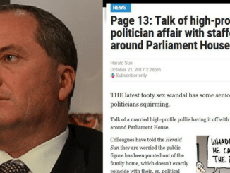 EXCLUSIVE! MARRIAGE HYPOCRITE! Deputy PM Barnaby Joyce cheats on wife with long sexual affair with staffer while lecturing public on gays ruining marriage