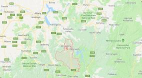 The region of Mitta Mitta in north-east Victoria (Image: Google Maps)