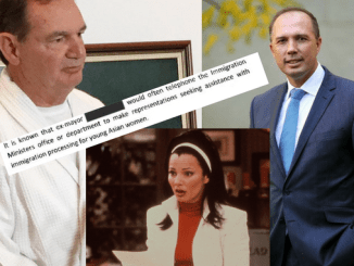 """AU PAIR, OH BOY! Peter Dutton now embroiled in """"young Asian women"""" sex worker scandal involving disgraced mayor Paul Pisasale as nation wonders """"what's the go with the au pairs"""""""