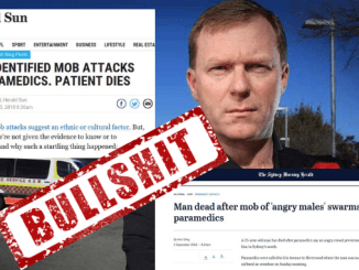 "NEVER F*CKEN HAPPENED! Paramedics union ""deeply regrets"" disgraceful lies that led to Andrew Bolt getting involved over Western Sydney man's death while family apparently attacked ambos"