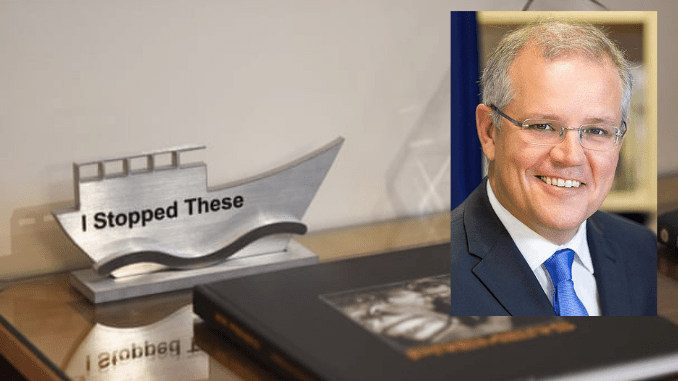 """I STOPPED THESE""! NO YOU DIDN'T! How Scott Morrison's campaign to 'turn back the boats' actually destroyed Aussie ships & almost saw sailors die"